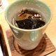 Hot sake and fugu fins.
