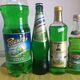 An array of tarragon sodas.