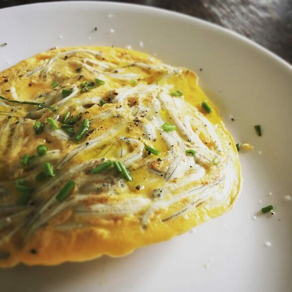 Whitebait fritters are a New Zealand delicacy.