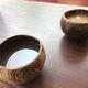Bowls of kava & POG (pineapple, orange, guava) from Kanaka Kava in Kaila Kona, Hawaii.