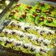 A tray of assorted paan.