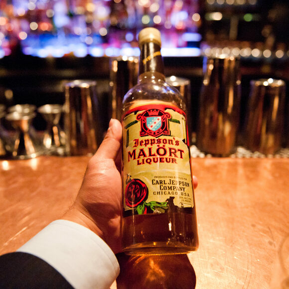 Inside a bottle, far away from your taste buds, Malört seems like any other drink.