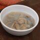 A bowl of fresh tamilok ready to be slurped down whole.