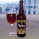 Outside Italy, you can get chestnut beer from the French island of Corsica. Here, the Corsican brand known as Pietra.