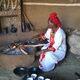 Coffee ceremony in Ankober, Ethiopia