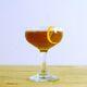 A bourbon-Cynar sour.