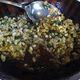 Escamoles, i.e. velvety tree ant eggs, pan-fried in butter.