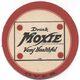 A vintage Moxie coaster.