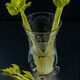 Victorian cut glass celery vase