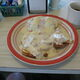 Diner-style cream chipped beef on toast in Richville, New York.