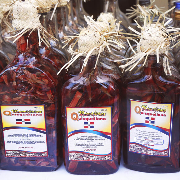 Mamajuana for sale in Punta Cana.