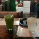 Celery and pine nut pulque at Las Duelistas in Mexico City