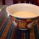 Tibetan tea is made with tea, yak butter, and salt.