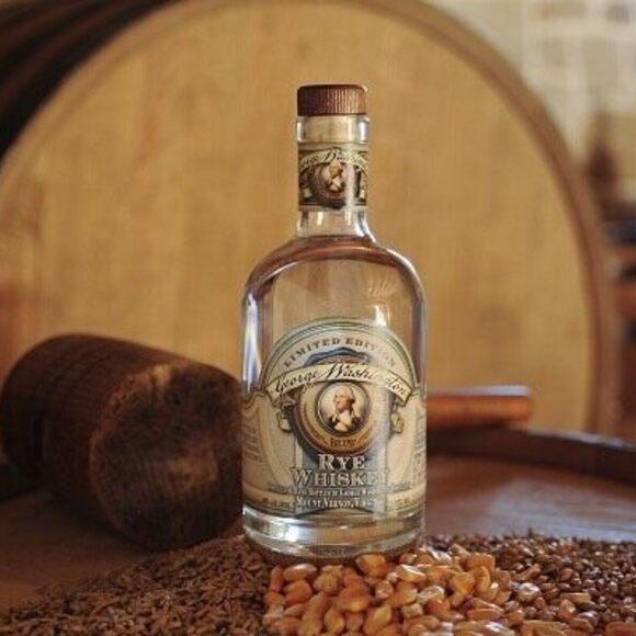 A bottle of Washington's whiskey.