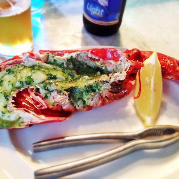 Lobster organs can taste extra lobstery.