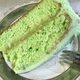 Pistachio-flavored instant pudding mix gives Watergate Cake a cosmic glow.