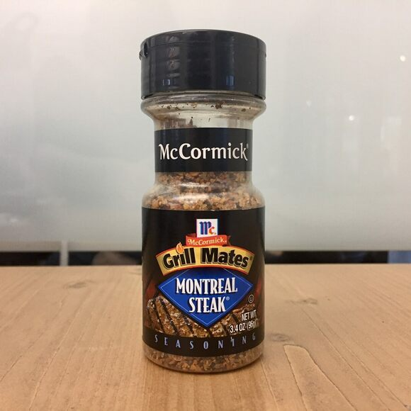 Even spice giant McCormick is in on the steak spice game.