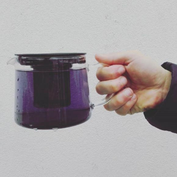 Violet Volcanic Tea