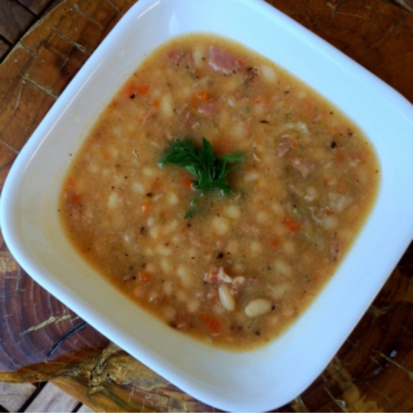 Bean soup has been served in the Senate dining room since time immemorial.