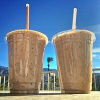 Date shakes from Hadley Fruit Orchards.