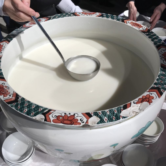 Fermented horse milk is called airag in Mongolia.
