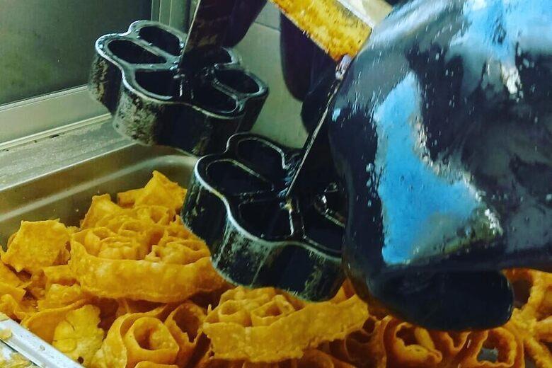 Crystal Beach Sugar Waffles