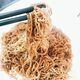 """Jook-sing mein means """"bamboo pole noodles"""" in Cantonese."""