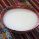 A cup of masato de yuca.