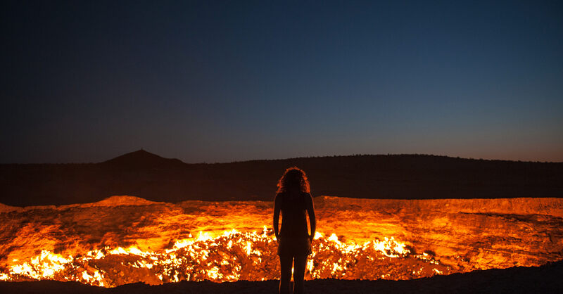 Win a trip for two to Turkmenistan and the Gates of Hell